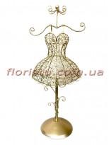 Коллекция Золото декоративный Манекен для украшений 46 см