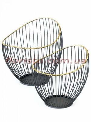 Кашпо металлические Bowl Yoko Boltze набор 2 шт.