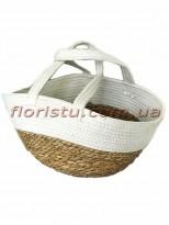 Корзина-сумка плетеная Скандинавия 46 см