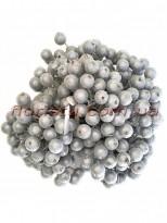 Ягоды в сахаре искусственные Серебро 10 шт.