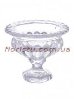 Ваза стеклянная Кубок 17*20 см
