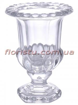 Ваза стеклянная Кубок 26 см