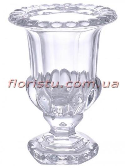 Ваза стеклянная Кубок 25*20 см