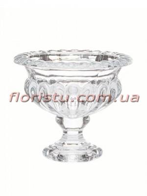 Ваза стеклянная Кубок 12*13 см