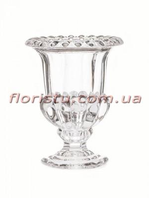 Ваза стеклянная Кубок 11,5*15 см