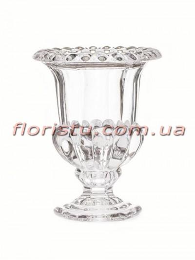 Ваза стеклянная Кубок 13,5 см