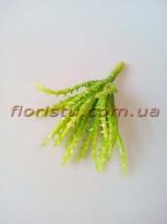 Суккулент искусственный №12 светло-зеленый 15 см