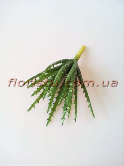 Суккулент искусственный №12 зеленый 15 см