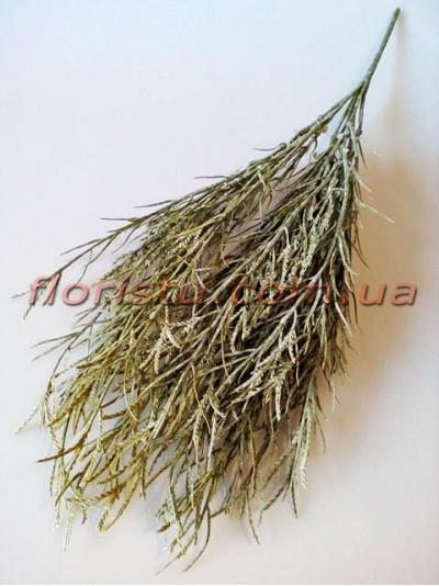 Травка с колосками Дымчато-зеленая 45 см
