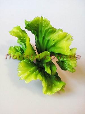 Суккулент искусственный капустообразный Зеленый 14 см
