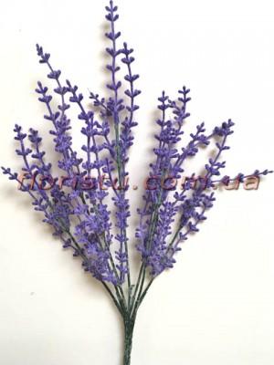 Лаванда искусственная Фиолет 35 см 7 веток