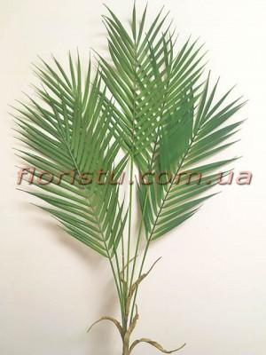 Листья пальмы премиум класса куст 82 см 5 листьев