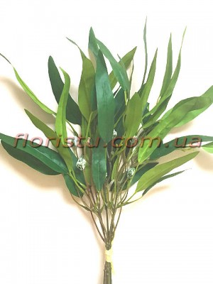 Эвкалипт глобулюс искусственный букет Зеленый 5 веток 50 см