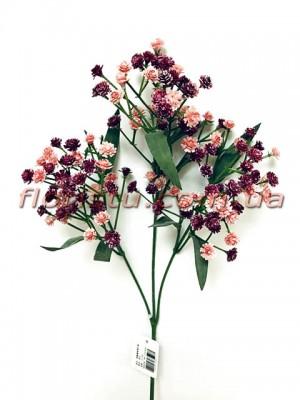 Гипсофила искусственная Бордово-розовая 67 см