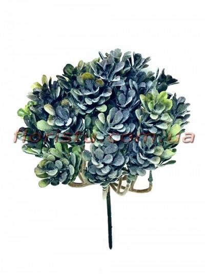 Искусственный кустик суккулента Зеленый 26*20 см