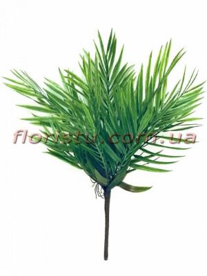 Листья пальмы мини куст 43 см 15 листьев