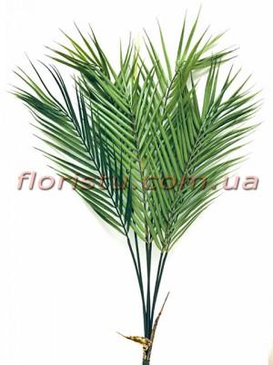 Листья пальмы премиум класса куст 65 см 6 листьев