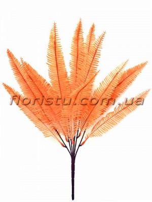 Папоротник нефролепсис искусственный Оранж 35 см