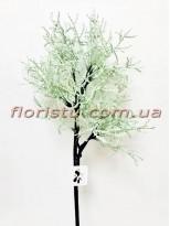 Ветка для декора искусственная Нежно-мятная 54 см