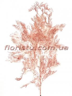 Искусственная декоративная ветка Розовая 100 см