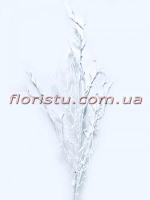 Коралл Белый искусственная ветка 94 см