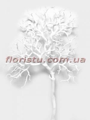 Коралл Белый искусственная ветка 83 см