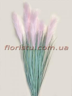 Пампасная трава искусственная Розовая 90 см