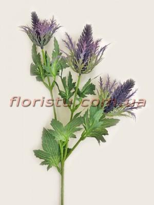 Эрингиум искусственный Фиолет 65 см