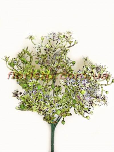 Добавка с рябыми цветочками сиреневая 30 см