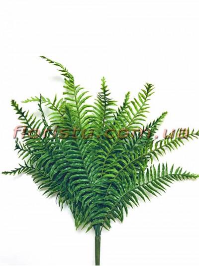 Куст папоротника премиум класса Зеленый 55 см