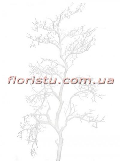 Коралл Белый искусственная ветка 110 см