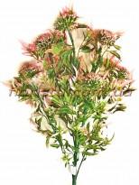 Букет чертополох пластиковый Розово-зеленый 51 см