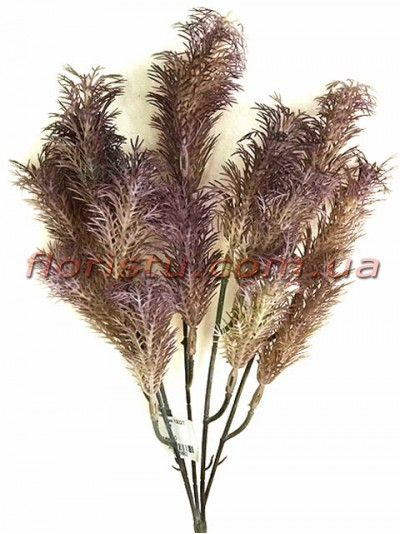 Трава водоросль пластик Мокко 36 см