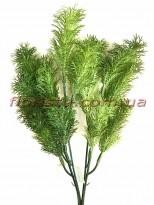 Трава водоросль пластик Зеленая 36 см