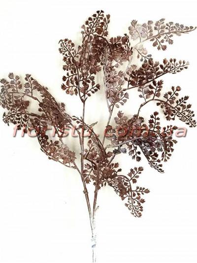 Адиантум декоративная ветка Коричневая 92 см