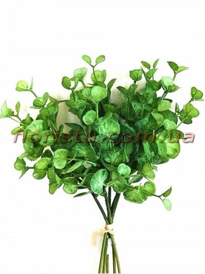 Щитолистник букет искусственный Зеленый 5 веток 36 см