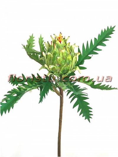 Протея искусственная Зеленая 50 см