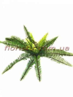 Папоротник премиум класса Зеленый 50 см 23 листа