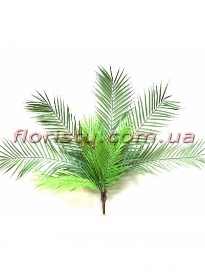 Пальма букет искусственный Дымчато-зеленый 71 см