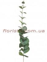 Эвкалипт искусственный премиум класса Дымчато-зеленый 90 см