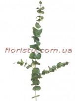 Эвкалипт искусственный премиум класса Дымчато-зеленый 130 см