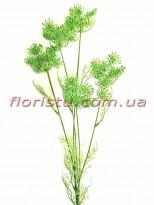 Укроп Зеленый ветка пластик 80 см