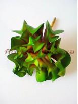 Суккулент экзотический искусственный зеленый 16 см