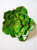 Эхеверия Каменная роза искусственная зеленая 13 см