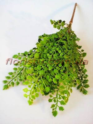 Адиантум латексный зеленый 38 см