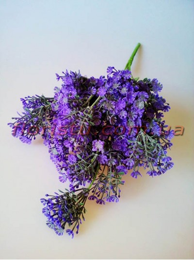 Гипсофила искусственная пышная фиолетовая 40 см