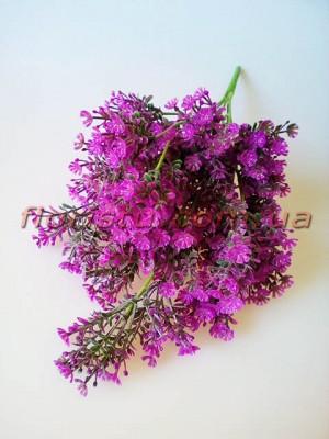 Гипсофила искусственная пышная малиново-фиолетовая 40 см