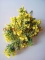 Гипсофила искусственная пышная желтая 40 см