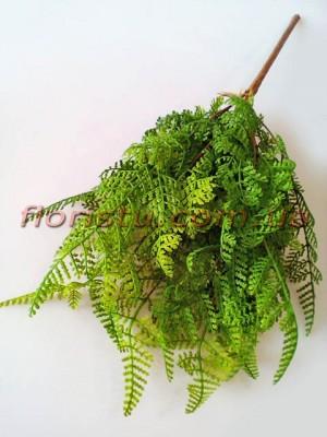 Папоротник искусственный премиум зеленый 44 см