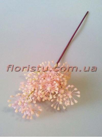Гипсофила пластик Нежно-розовая 45 см